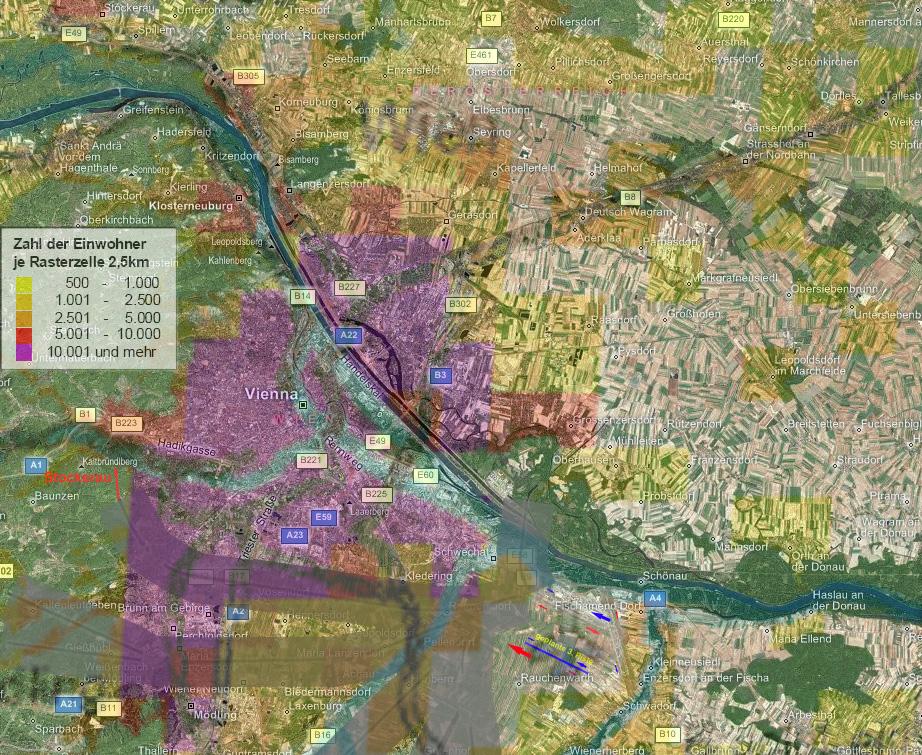 Flugrouten Karte.Karten Und Analysen Zur 3 Piste